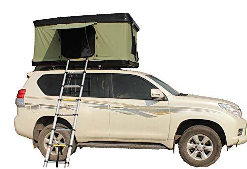 Yx-outdoor Camping Auto Dachzelt Abs Hartschale, Hydraulische Automatische Schnellöffnungszelt Mit Fenstergaze Winddicht Wasserdicht