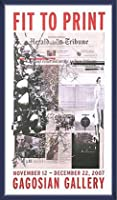 ポスター アーティスト不明 ハーレー Fit to Print2007 collage 額装品 ウッドベーシックフレーム(ブルー)