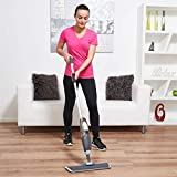 Vinsani Grey Spray Floor Mop - Water Spraying Floor Cleaner with Refillable Bottle for Hardwood, Wood, Vinyl,...