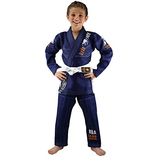 Bõa GI Leão 2.0, GI Kimonos (Brazilian Jiu Jitsu) Niños, azul, M0/100