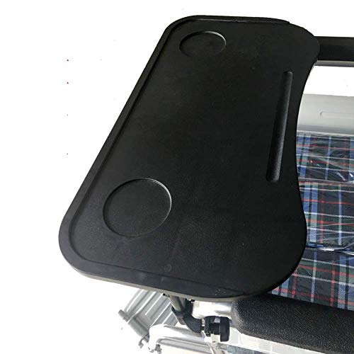 GHzzY Rollstuhl-Lap-Tray-Tisch - Rollstuhltisch zum Essen, Lesen, Schreiben, Spielen oder Schach - Zubehör für Rollstuhltabletts