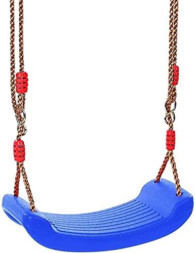 wsbdking Asiento de Swing para niños, Cuerda de Abertura de árbol para Juegos de jardín al Aire Libre Playet de Patio Trasero, fácil de configurar