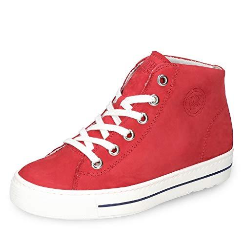 Paul Green 4735 Damen Sneakers Rot, EU 38,5