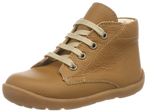 Däumling Unisex Baby Pirmin Sneaker, Braun (Nappa Cf Sattel 35), 24 EU