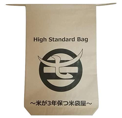 米が3年保つ米袋屋 柿渋撥水米袋30�s用×3枚