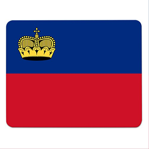 Addies Mousepad Liechtenstein Landesflagge - Fahne - Liachtaschta - Liachtaschto