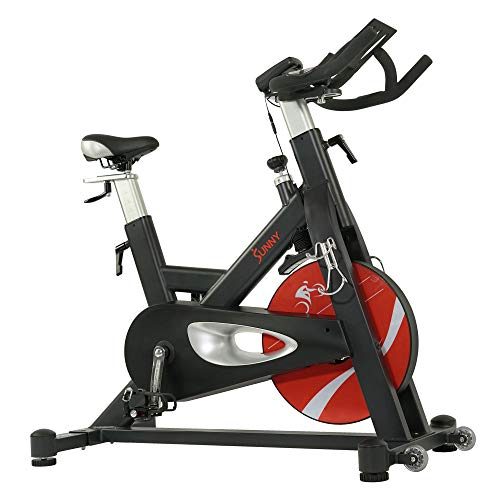 Sunny Health & Fitness Evolution Pro II Magnetic Indoor Cycle Exercise Bike with Device Mount and Performance Display -SF-B1986