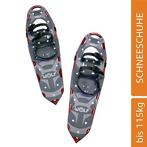 WOLF VULCANO 30 Schneeschuhe (Snow Shoes, Steigeisen, Schneewanderschuhe, Schneeschuhwandern, Eisschuhe, Steighilfe, Schuhe-Krallen, Boa, Harscheisen, Steig Ski, Snow Feat, Tiefschneeschuhe, Spikes, Fersenriemen, Schneeboots) …
