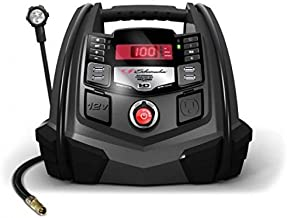 Schumacher SJ1289 1200 Peak Amp 12V Jump Starter and Air Compressor with Portable Power Ports