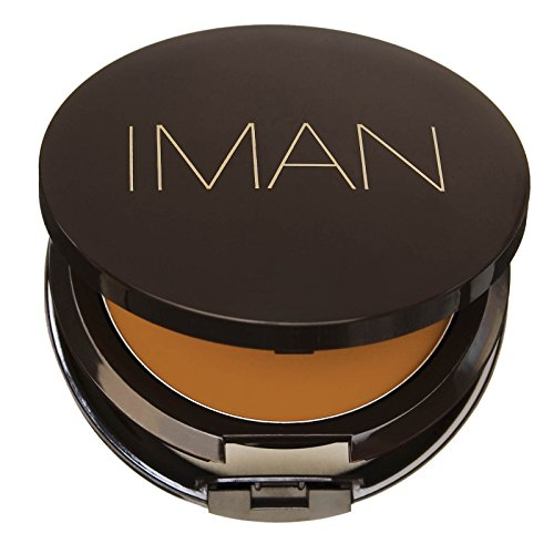 IMAN Second To None Cream To Powder Foundation, Medium Skin, Clay 3