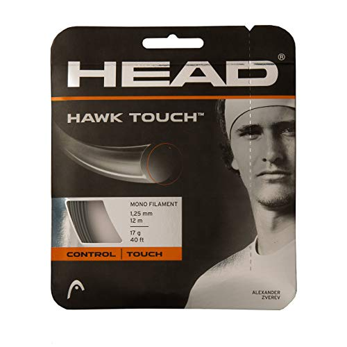 Head Hawk Touch Rollo Cordajes de Raquetas de Tenis, Adultos...
