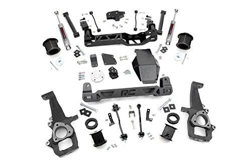 Rough Country - 324S - 6-inch Suspension Lift System w/ Performance 2.2 Shocks