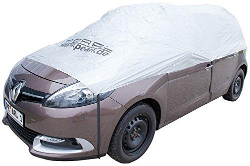 PEARL Schneeschutz Auto: Auto-Halbgarage für Kleinbus & Transporter, 470 x 140 x 65 cm (Halbgarage Sonnenschutz)