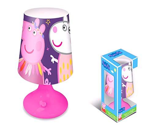 Nickelodeon nachtlicht Peppa PigMädchen 18 x 10 cm violett/rosa