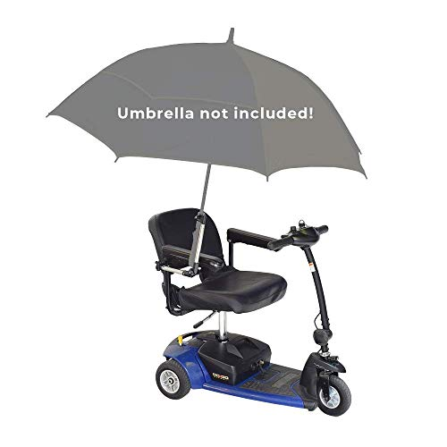 Universal Grip Umbrella Holder for Mobility Scooters, Power Chairs, Wheelchairs