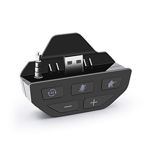 WANGYUMI Headphone Adapter, Stereo Headset Adapter -Audio Adapters Headphone Converter for -Xbox One Gamepad