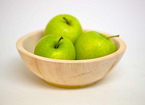 Dekonow Original Zillertaler Zirbenschale - länger frische Lebensmittel - wirkt schädlingshemmend - Ø ca. 20cm