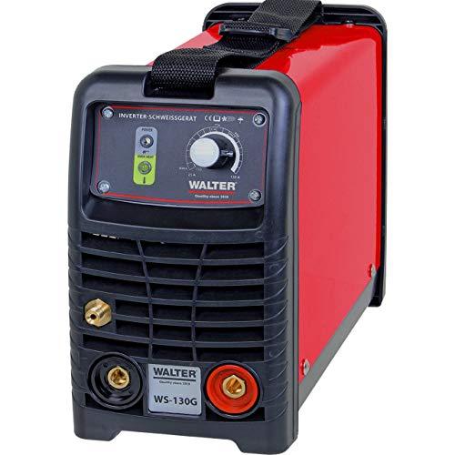 WALTER Inverter-Schweißgerät, WIG, 60V, stufenlos regelbar, auch bei Wind und Draußen ideal, leicht und leistungsstark