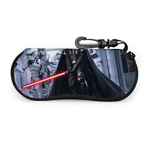 Estuche para anteojos, Star Wars Portátil Viaje Cremallera Gafas de sol Estuches Gafas de lectura Bolsa Conjunto de guardia