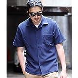 ラトルトラップ(RattleTrap) オープンカラー半袖カットソーシャツ【02ネイビー/S】