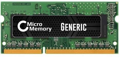 MicroMemory 2GB Memory Module 1333MHz DDR3, KVR13S9S6/2 (1333MHz DDR3 SODIMM)