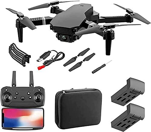 LYHY Drone GPS WiFi 4K HD Videocamera Live Drone per Principianti, Mantenimento dell'altitudine, Ritorno Automatico, Controllo dei gesti, seguimi e modalità Senza Testa