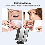 Zoom IMG-2 weily specchio cosmetico per trucco
