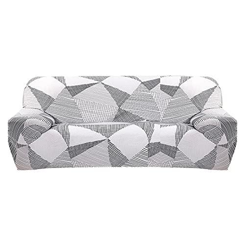 ASCV Funda de sofá elástica para Sala de Estar Funda de sofá Funda de sofá seccional Funda de sillón Muebles elásticos protegidos A6 2 plazas