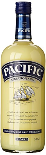 RICARD Pastis Aperitif Pacific Anis ohne Alkohol 1 Liter