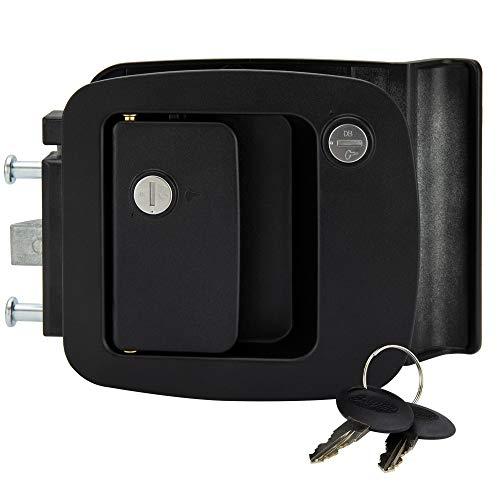RecPro RV Entrance Door Lock BP-12RV 2-Pin Safety Lock   Camper Door Lock   Fifth Wheel Entry Door Lock