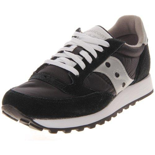 SAUCONY ORIGINALS Jazz Original, Sneaker Donna, Sneaker Donna, Nero (Schwarz), 41 EU