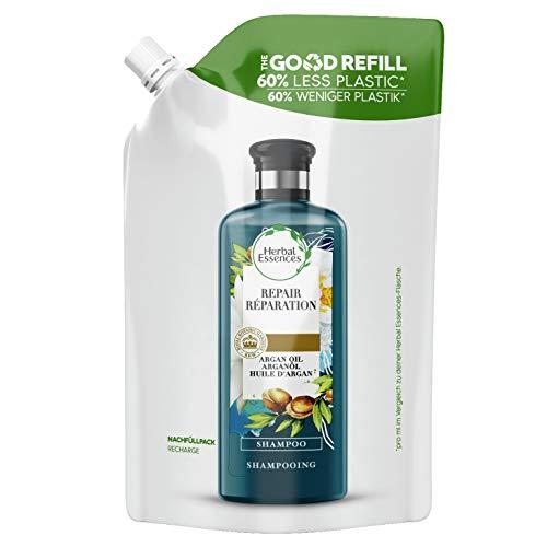 Herbal Essences Ripara, Shampoo con Olio di Argan Del Marocco, Ricarica con il 60% in Meno...