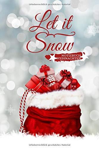Notizbuch Weihnachten: Version: Geschenkesack | Notizbuch Weihnachten | Notizen, To-Dos, Wunschlisten, Weihnachtsgedichte, Rezeptbuch zum ... | Weihnachtsgeschenk | DIN A5 gepunktet