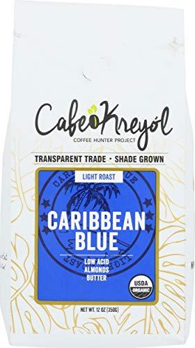Cafe Kreyol, Coffee Caribbean Blue, 12 Ounce
