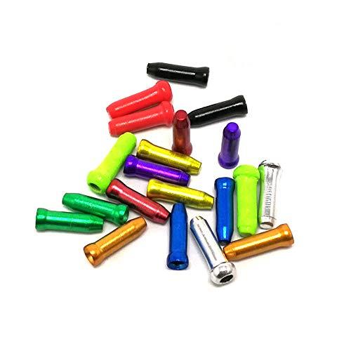 DierCosy Tools Extremo del Cable Crimps, Caps Bicicleta del Cable del Terminal,...