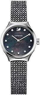 Swarovski Black Stainless Steel Black dial Watch for Women's 5200065