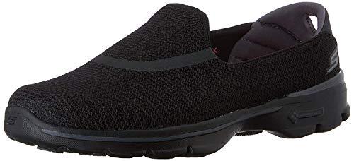 Skechers Performance Women's Go Walk 3 Slip-On Walking Shoe, Black, 7.5 M US