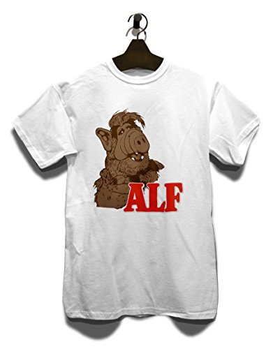 Alf T-Shirt Weiss M