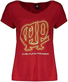 Camiseta Atlético Paranaense Light Vermelha Feminina
