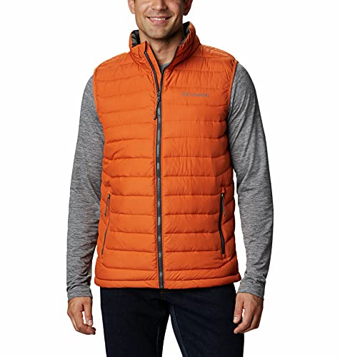 Columbia Veste Sans Manches Powder Lite, Homme, Orange (Harvester), XXL