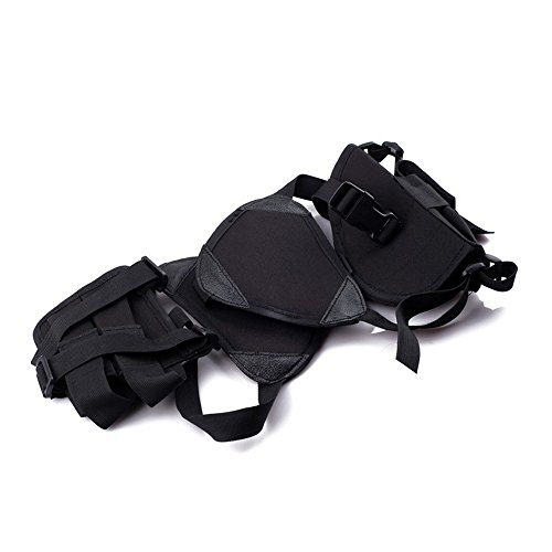 Hunting Explorer Tactical Underarm Shoulder Gun Holster Anti-Thief Concealed Armpit Pistol Holster Bag with 2 Holsters