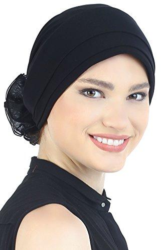 Deresina Headwear Gorra Acolchada y Plegable (Negro)