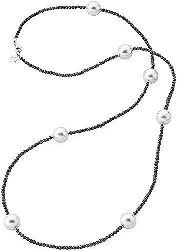 Majorica Sautoir Collar Mujer chapado en plata - 13615.01.2.000.010.1