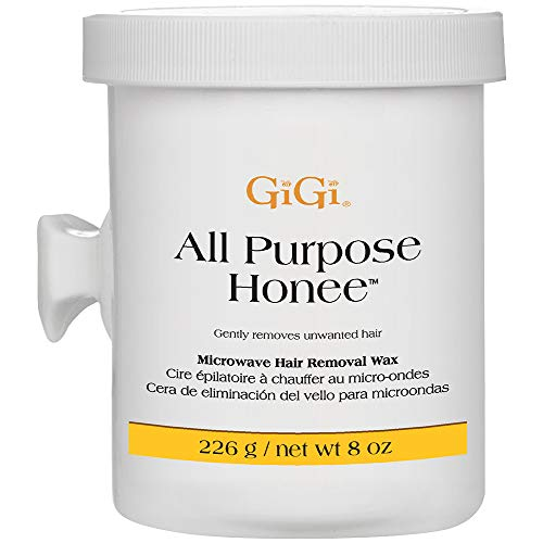 GiGi All Purpose Honee - Microwave Hair Removal Wax, 8 Ounces