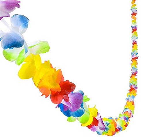 108 inches Jumbo Flower Lei Garland, Case of 36