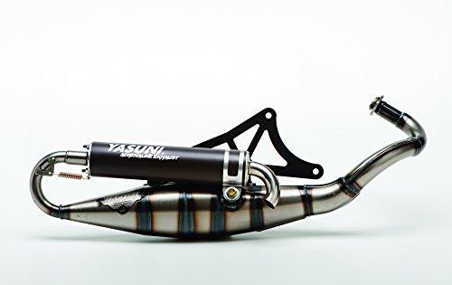 Auspuff Yasuni Scooter R schwarz für Piaggio
