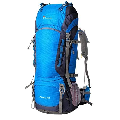 MOUNTAINTOP M5822, Zaino da Escursionismo Unisex Adulto, Blu(Blau), 36 x 25 x 83 cm