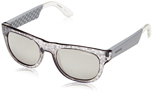 Carrera 5006 SS 1UJ Gafas de sol, Gris (Light Grey Havana White/Silver Mirror), 52 Unisex-Adulto