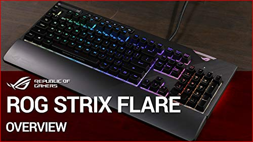 Build My PC, PC Builder, ASUS ROG Strix Flare (Cherry MX Red)