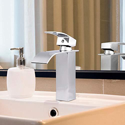 FICI Handige wastafelkraan Waterval Badkamer antiek messing kraan plastico badkamer wastafel kraan accessoires